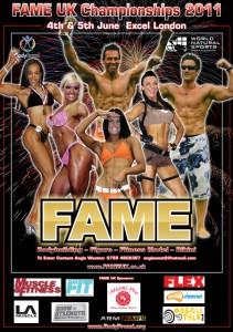 FAME UK 2011 Poster